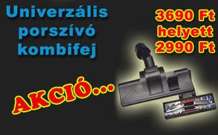 Univerzális kombi porszívófej 30-37mm