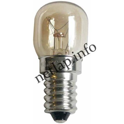 Tűzhely E14 izzó, mikrohullámú sütő lámpa 15W-230V