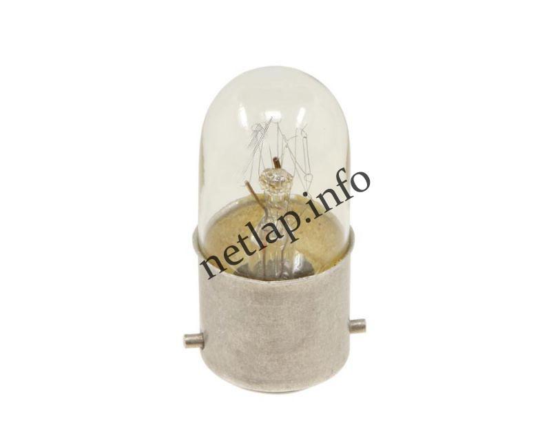 Tűzhely B22D izzó, bajonettes mikrohullámú sütő lámpa 15W-230V
