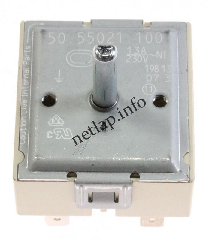 AEG Electrolux Zanussi tűzhely kerámialaphoz dupla körös energiaszabályzó kapcsoló EK/EP/HF/ZHN/ZOU