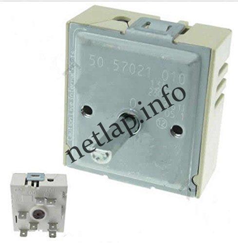 Electrolux Beko Gorenje Indesit Whirlpool tűzhely kerámialaphoz egy körös energiaszabályzó kapcsoló AKL/EHK/VIT