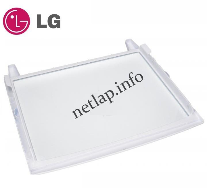 LG hűtőgép normál téri üvegpolc GE/GS/GWB/GWL/GWP