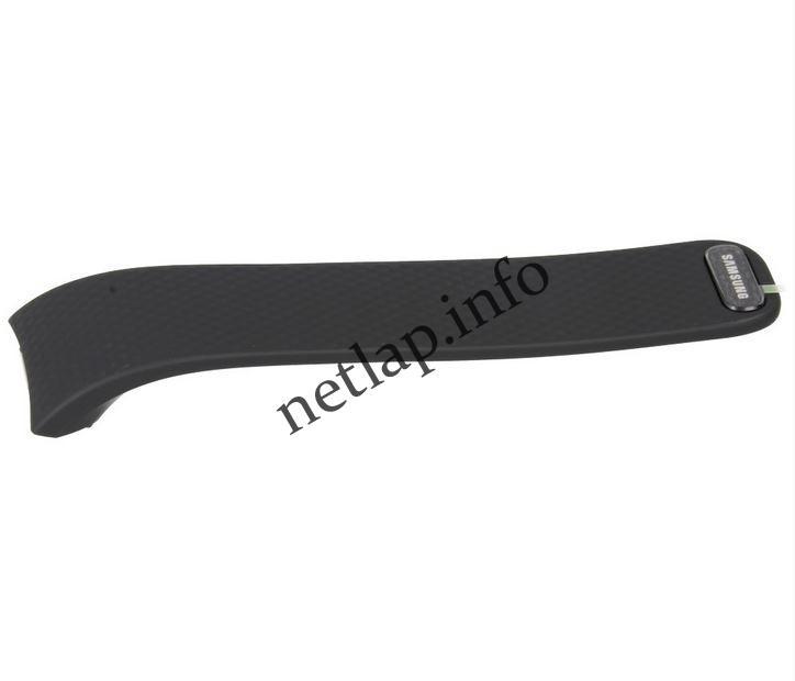 Samsung Gear Fit2 okosóra jobb oldali szíj fekete