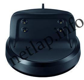 Samsung Gear Fit2 okosóra dokkoló fekete