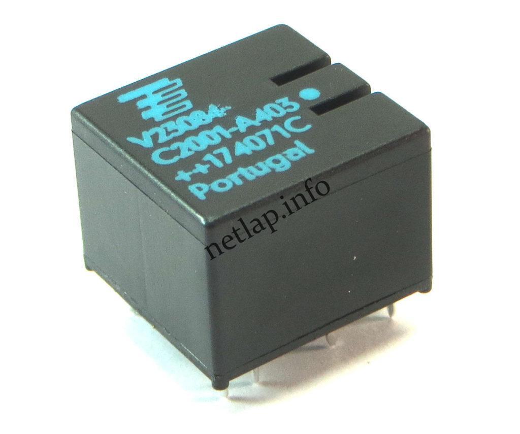 Relé V23084-C2001-A403