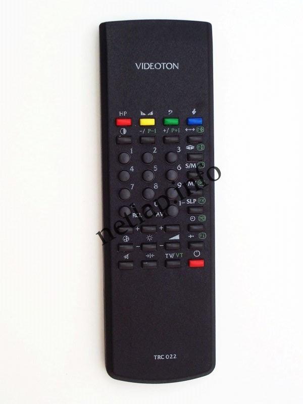 Videoton TRC 022 távirányító